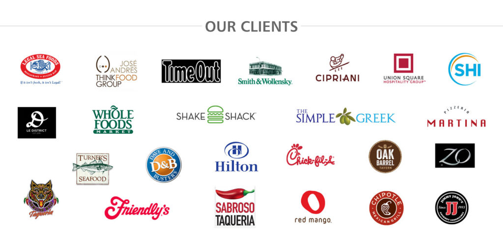 Hospitality - Our Clients